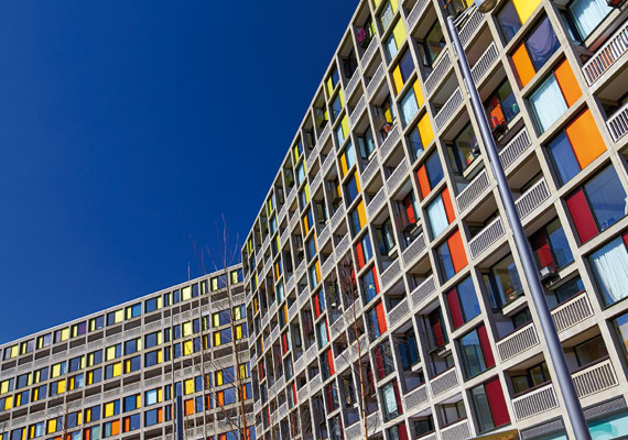 Park Hill flats redevelopment by Urban Splash.