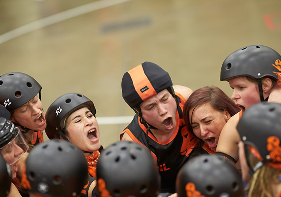 The Netherlands at the second Roller Derby World Cup.